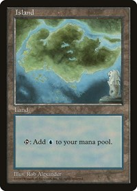 Island - Clear Pack (Alexander), Magic: The Gathering, APAC Lands