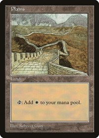 Plains - Clear Pack (Guay), Magic: The Gathering, APAC Lands