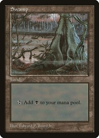 Swamp - Red Pack (Beard, Jr.), Magic: The Gathering, APAC Lands