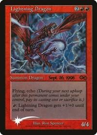 Lightning Dragon, Magic: The Gathering, Prerelease Cards