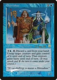 Overtaker, Magic: The Gathering, Prerelease Cards