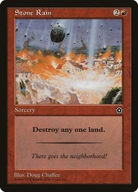 Stone Rain, Magic: The Gathering, Portal Second Age