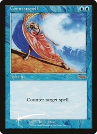Counterspell, Magic: The Gathering, Judge Promos