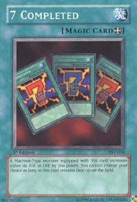 7 Completed, YuGiOh, Pharaoh's Servant