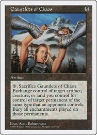 Gauntlets of Chaos, Magic, Fifth Edition