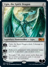Ugin, the Spirit Dragon, Magic: The Gathering, Promo Pack: Core Set 2021