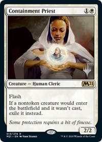 Containment Priest, Magic: The Gathering, Promo Pack: Core Set 2021