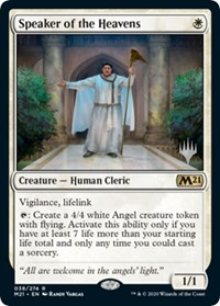 Speaker of the Heavens, Magic: The Gathering, Promo Pack: Core Set 2021