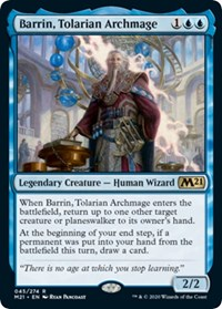 Barrin, Tolarian Archmage, Magic: The Gathering, Promo Pack: Core Set 2021