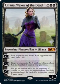 Liliana, Waker of the Dead, Magic, Promo Pack: Core Set 2021
