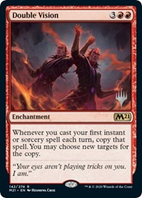 Double Vision, Magic: The Gathering, Promo Pack: Core Set 2021
