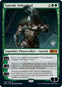 Garruk, Unleashed (Foil)