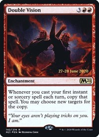 Double Vision, Magic: The Gathering, Prerelease Cards