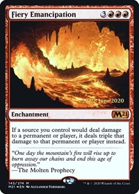 Fiery Emancipation (Foil)