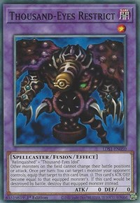 Thousand-Eyes Restrict, YuGiOh, Legendary Duelists: Season 1