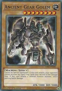 Ancient Gear Golem, YuGiOh, Legendary Duelists: Season 1
