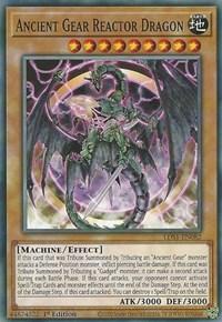 Ancient Gear Reactor Dragon, YuGiOh, Legendary Duelists: Season 1