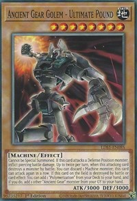 Ancient Gear Golem - Ultimate Pound, YuGiOh, Legendary Duelists: Season 1