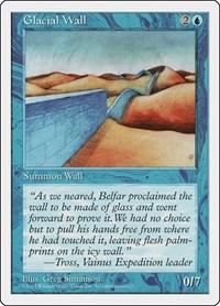 Glacial Wall, Magic, Fifth Edition
