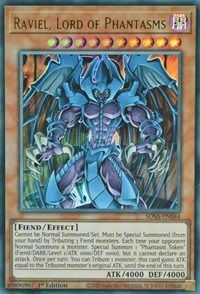 Raviel, Lord of Phantasms, YuGiOh, Structure Deck: Sacred Beasts