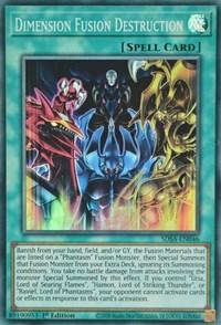 Dimension Fusion Destruction, YuGiOh, Structure Deck: Sacred Beasts