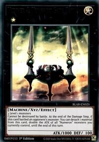 Number 4: Numeron Gate Catvari, YuGiOh, Battles of Legend: Armageddon