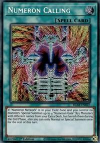 Numeron Calling, YuGiOh, Battles of Legend: Armageddon