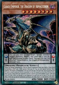 Chaos Emperor, the Dragon of Armageddon, YuGiOh, Battles of Legend: Armageddon
