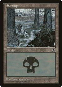 Swamp (164), Magic: The Gathering, Portal Second Age
