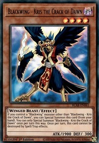 Blackwing - Kris the Crack of Dawn, YuGiOh, Battles of Legend: Armageddon