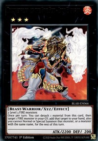 Brotherhood of the Fire Fist - Lion Emperor, YuGiOh, Battles of Legend: Armageddon