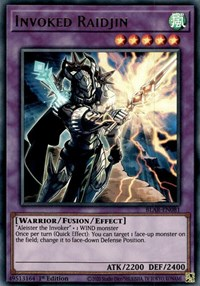 Invoked Raidjin, YuGiOh, Battles of Legend: Armageddon