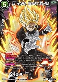SS Vegeks, Mastery Merged, Dragon Ball Super CCG, Promotion Cards