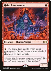 Grim Lavamancer, Magic: The Gathering, Double Masters