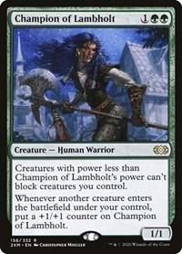 Champion of Lambholt, Magic: The Gathering, Double Masters