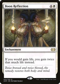 Boon Reflection, Magic: The Gathering, Double Masters
