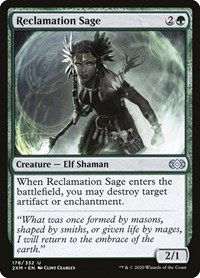 Reclamation Sage, Magic: The Gathering, Double Masters