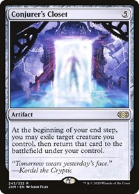 Conjurer's Closet, Magic: The Gathering, Double Masters
