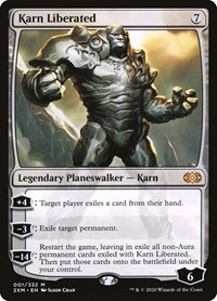 Karn Liberated, Magic: The Gathering, Double Masters