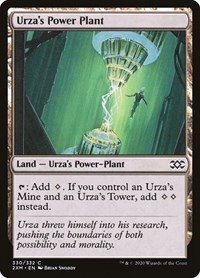 Urza's Power Plant, Magic: The Gathering, Double Masters