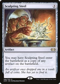 Sculpting Steel, Magic: The Gathering, Double Masters