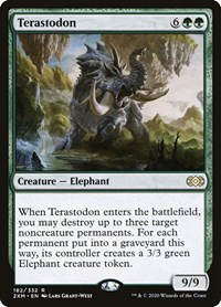 Terastodon, Magic, Double Masters