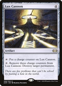Lux Cannon, Magic: The Gathering, Double Masters
