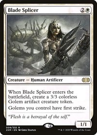 Blade Splicer, Magic: The Gathering, Double Masters
