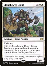 Stonehewer Giant, Magic: The Gathering, Double Masters