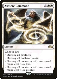 Austere Command, Magic, Double Masters