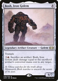 Bosh, Iron Golem, Magic, Double Masters