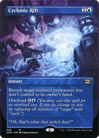 Cyclonic Rift (Showcase) (Foil)