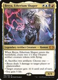 Breya, Etherium Shaper, Magic: The Gathering, Double Masters