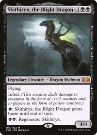 Skithiryx, the Blight Dragon, Magic: The Gathering, Double Masters